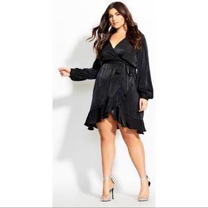 "City Chic ""Illusive Black"" dress"